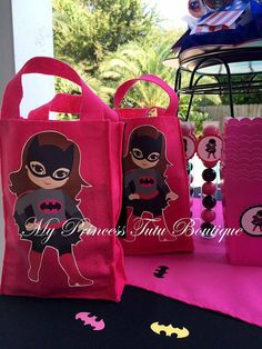 Reserved Listing For Veronica, Superhero Candy Bags, Superhero Treat Bags, Superhero Birthday Party, Wonder Woman Party, Batman Party
