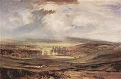 Raby Castle, Residence of the Earl of Darlington - William Turner
