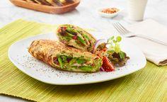 Recetas Minuto Verde - Omelette Porotos Verdes