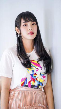 😲 Cr.Cherprang BNK48 Wallpaper Iphone Cute, Bts Wallpaper, Drawing Templates, Sexy Women, Geek Stuff, Cosplay, Lady, Drawings, Anime