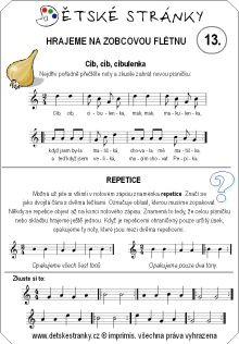noty na flétnu z pohádek - Hledat Googlem Sheet Music, Partitions, Music, Music Score, Music Charts, Music Sheets