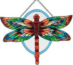 Dragonfly :: Stained Glass