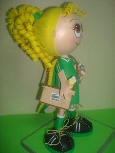 boneca em EVA