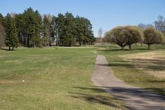 Hole 13 in Helsinki Golf Club course in Tali.