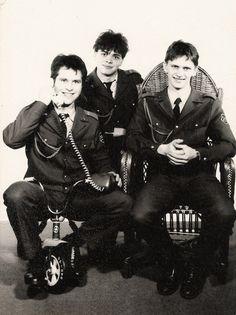 Kun Péter Kunos - Katonaság, Nagykanizsa 1986.08.28.-1988.02.18.. (H.R.T - Helyőrségi Rock és Tánczenekar)