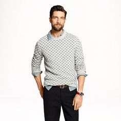 J.Crew - Nordic dot sweater