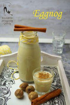 Kulinarne przygody Gatity - przepisy pełne smaku: Eggnog, likier jajeczny