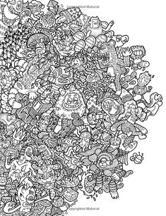 Starbucks Kleurplaat Pegasus Doodle Coloring Pages Colouring Adult Detailed
