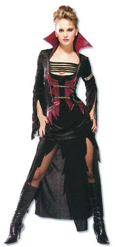 Scarlet Vampiress Kostüm | Sexy Vampir Kostüme für Frauen | horror-shop.com