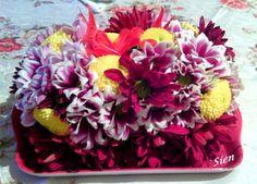 Aranjament din crizanteme