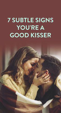 7 Subtle Signs You're A Good Kisser