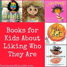 Books for Kids About Liking Who They Are