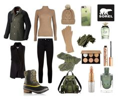 """""""Tame Winter with SOREL: Contest Entry"""" by petit-prince13 ❤ liked on Polyvore featuring SOREL, Boohoo, Chicnova Fashion, Burberry, Coast, Paige Denim, Mariah Carey, Charlotte Tilbury, Anastasia Beverly Hills and Casetify"""