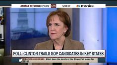"""MSNBC's Mitchell, WaPo's Tumulty Discuss Clinton's """"Tension"""" With Her Ba..."""