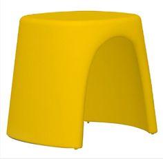 Tabouret Amelie Sgabello - jaune by Slide. Retrouvez nos tabourets design sur amateur de design: http://www.amateurdedesign.com/