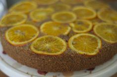 Narancsos- diós süti