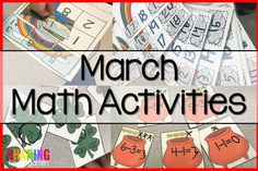 March comes in like a lion and out like a lamb, just like march math activities! This month brings lots of skill building and practicing as we prepare these little ones for the home stretch! We try to teach all the math standards during this grading period and then grow those skills during the last …