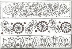 Slovak folk pattern