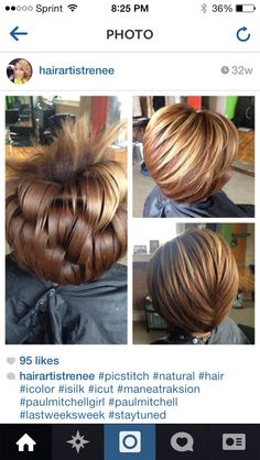 Love this bob! And, the color is to die for!!!