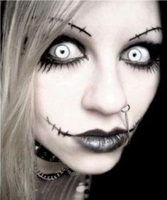 Scary Halloween Makeup Ideas....