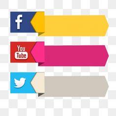 Social Png, Social Media Icons, Youtube Editing, Video Editing Apps, Social Media Buttons, Social Media Banner, Photoshop, Youtube Logo, Youtube Youtube
