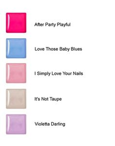 Enlarge Red Carpet Manicure Gel Polish - Pastels