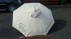 Bud Light lime Beer Patio Beach 6 FT Umbrella Wood poll   eBay