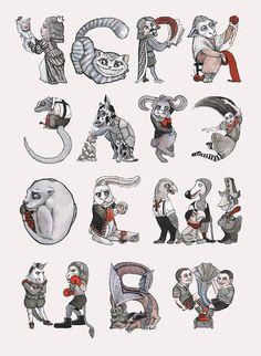 www.behance.net/gallery/23427207/Alice-in-Wonderland-