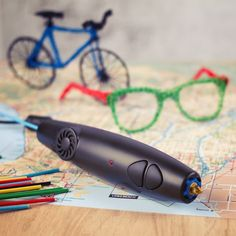 3Doodler - The World's First 3D Printing Pen from Firebox.com - how cool is this?