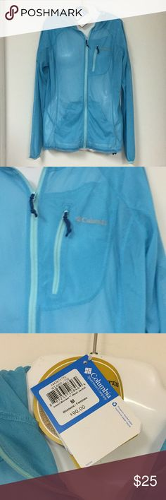 Insect Blocker from Columbia Blue netted Jacket Columbia Jackets & Coats