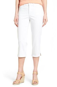 NYDJ 'Ariel' Stretch Crop Jeans (Regular & Petite) (Nordstrom Exclusive) available at #Nordstrom