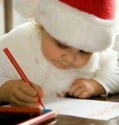La lettre au Père Noël c'est super important... ...