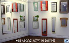 Emma's Simposium: 2 - Sliding Mirrors & Cabinet Slots by Sims4Studio...