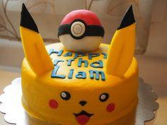 Pokemon/Picachu cake