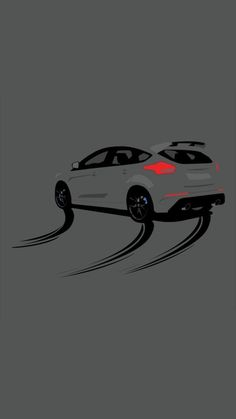 Ford Focus, Mustang Noir, Mustang Cars, Car Animation, Ford Rs, Eco Friendly Cars, Bmw Wallpapers, Car Illustration, Tuner Cars