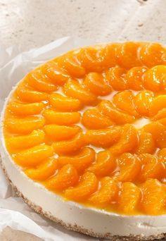 Joghurt-Mandarinen-Torte mit Amaranth-Boden: http://www.gofeminin.de/kochen-backen/geburtstagskuchen-rezepte-d54781c623233.html #torte