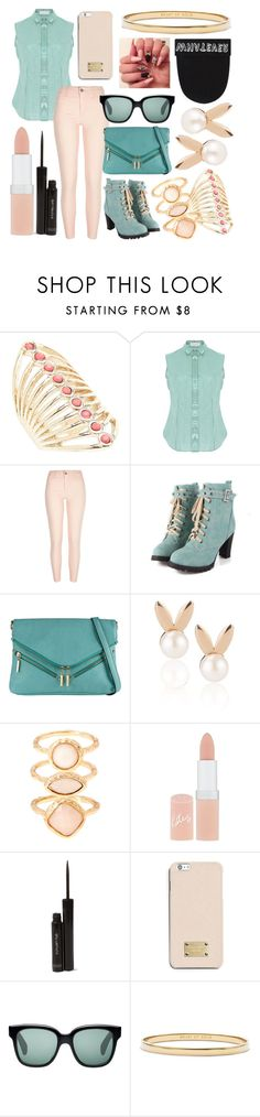 """""""style 2448"""" by bellaannabella ❤ liked on Polyvore featuring Lane Bryant, Delpozo, River Island, Call it SPRING, Aamaya by priyanka, Monsoon, Rimmel, shu uemura, MICHAEL Michael Kors and Oliver Peoples"""