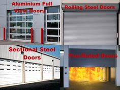 At Roadrunner Garage Door, we know that your commercial overhead door is the lifeline to your facility. That's why we only supply quality, tough commercial doors to withstand the daily wear and tear of operating a fast paced commercial business. - Sectional Steel Doors - Aluminum Full View Doors - Rolling Steel Doors - Fire-Rated Doors