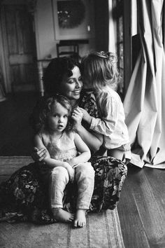 #motherhood lifestyle family photography in the home window light black and white photography