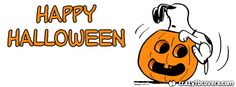 Snoopy Happy Halloween Facebook Cover Facebook Timeline Cover
