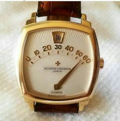 Vintage Watches Collection : 😱😱 Unexpected approach to wristwatches from Vacheron Constantin It's cal. - Watches Topia - Watches: Best Lists, Trends & the Latest Styles High End Watches, Retro Watches, Vintage Watches For Men, Luxury Watches For Men, Cool Watches, Men's Watches, Elegant Watches, Beautiful Watches, Vacheron Constantin