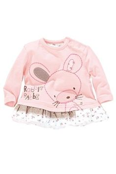 Pink Bunny T-Shirt (0-18mths) - very cute, and just sweet!