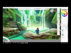 Jason Scheier uses Autodesk SketchBook Pro for the first time