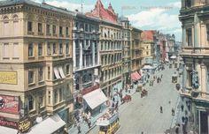 Berlin, Friedrichstraße, Postcard, 1905