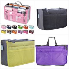 Organizer Travel Bag Women  #mensfashion #fusion8lux #fashionworld #instafashion #ootd #menfashionreview Bow Clutch, Travel Bags For Women, Handbag Organization, Cosmetic Bag, Leather Shoulder Bag, Ootd, Purses, Purse Organization, Handbags