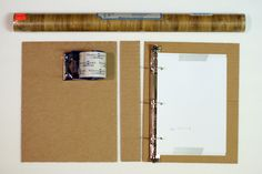 Tutorial on creating your own binders from scratch. Great for a DIY Family Register / Stammbuch