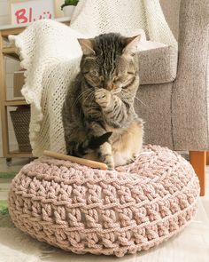 Sublime Crochet for Absolute Beginners Ideas. Capital Crochet for Absolute Beginners Ideas. Crochet Home, Love Crochet, Beautiful Crochet, Knit Crochet, Crochet Motifs, Easy Crochet Patterns, Diy Puffs, Crochet Decoration, Fabric Yarn