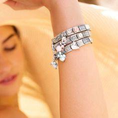 Composable Create your own bracelet . Nomination Bracelet, Fashion Stylist, Fashion Addict, Pandora, Style Inspiration, Jewels, Bracelets, Jewellery, Fashion Watches