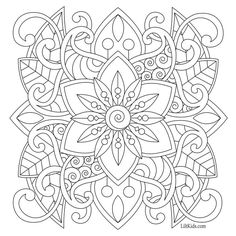 Beautiful Mandalas Patterns To Color For Adults