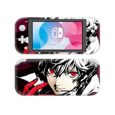 Persona 5 The Royal Skin Sticker Decal For Nintendo Switch Lite Console & Controller Protector Joy-con Switch Lite Skin Sticker Buy Nintendo Switch, Persona 5, Games To Play, Brand Names, Console, Decals, Usb, Stickers, Bluetooth